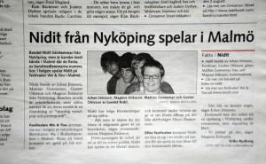 Nidit från Nyköping spelar i Malmö