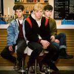 Connor Hanwick, Jonathan Price and Jacob Graham