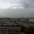 Panorama Paris från Printemps av Johan Wistbacka