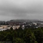 Gråa moln över Tammerfors