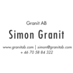 Visitkort Framsida - Granit AB