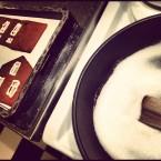 Smälter socker till pepparkakshuset