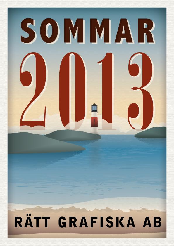 Sommarkort 2013