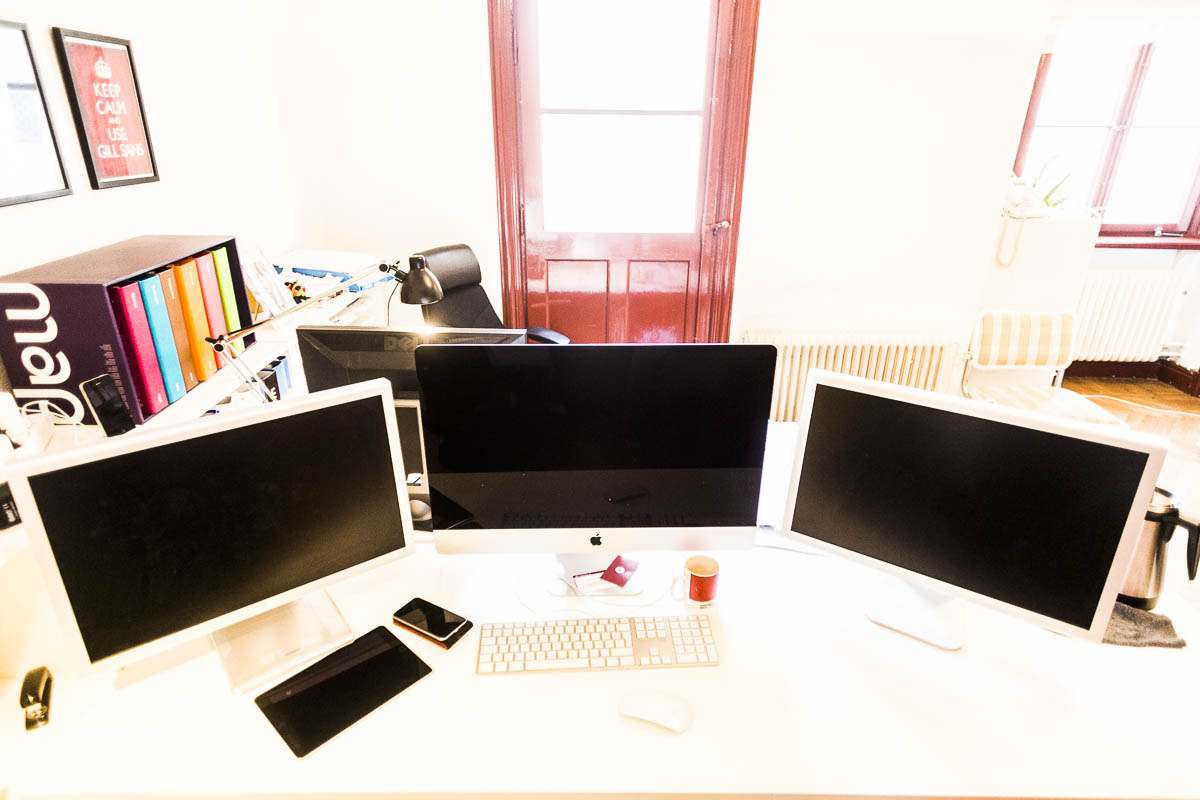 Mitt skrivbord