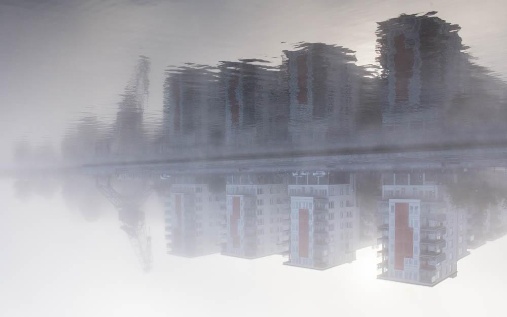 Hus i dimma