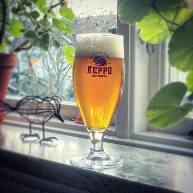 Fredag #aw med en Pale Ale. @keppobryggeri